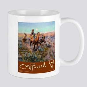 Charles M Russell Cowboys Mugs