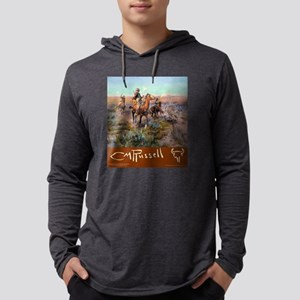 Charles M Russell Cowboys Long Sleeve T-Shirt