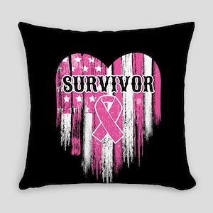 Breast Cancer Survivor Everyday Pillow