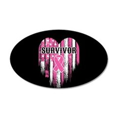 Breast Cancer Survivor Wall Sticker