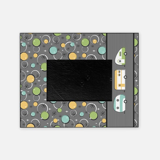 Funny Happy camper t Picture Frame