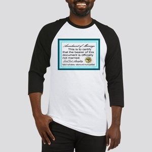 Annulment of Marriage Baseball Jersey