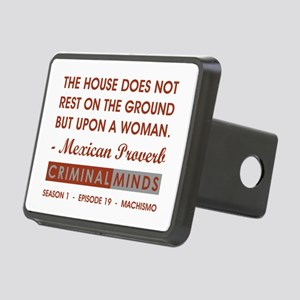 THE HOUSE DOES NOT Rectangular Hitch Cover