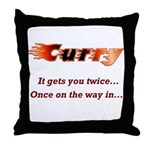 Burn it up with this Throw Pillow