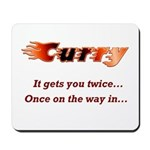 Burn it up with this Mousepad