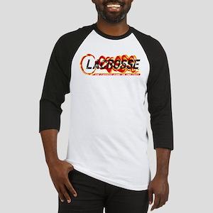 Lacrosse Fastest Black Baseball Jersey
