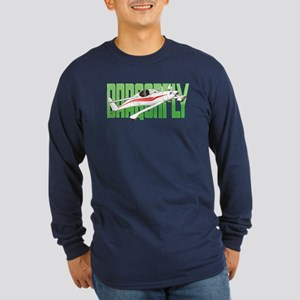 DRAGONFLY Long Sleeve Dark T-Shirt