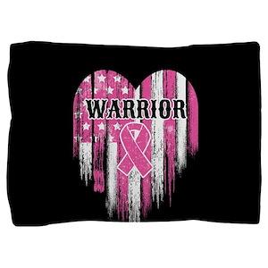 Breast Cancer Warrior Pillow Sham