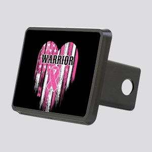 Breast Cancer Warrior Rectangular Hitch Cover