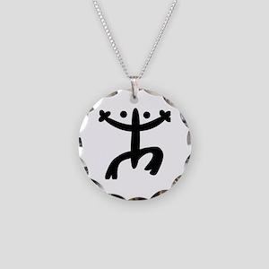 Coqui Necklace Circle Charm
