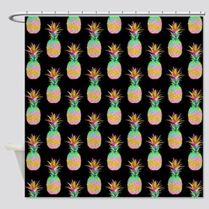 Pineapple Pattern, Shower Curtain