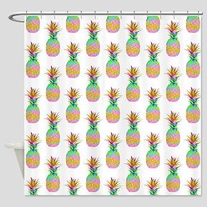 Pineapple Pattern, Shower Curtain