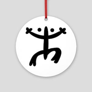 Coqui Round Ornament