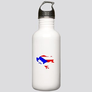 Puerto Rican Coqui Stainless Water Bottle 1.0L