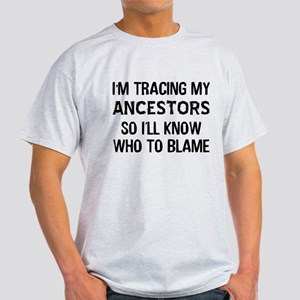 Funny Genealogy Light T-Shirt