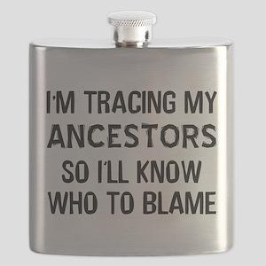 Funny Genealogy Flask