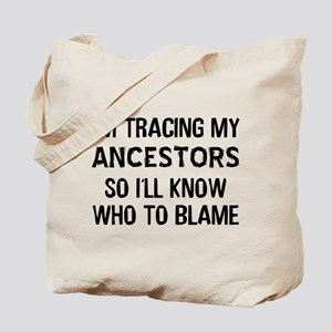 Funny Genealogy Tote Bag