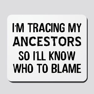 Funny Genealogy Mousepad