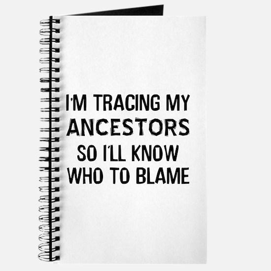 Funny Genealogy Journal
