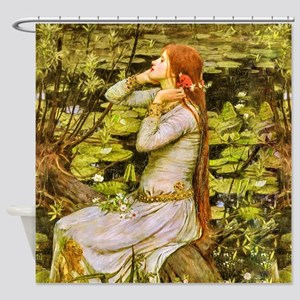 Waterhouse: Ophelia (1894) Shower Curtain