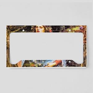 Waterhouse: Ophelia License Plate Holder
