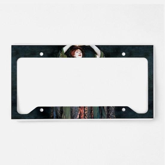 Ellen Terry - Lady Macbeth License Plate Holder