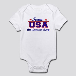 American Baby 4th July Baby bodysuits