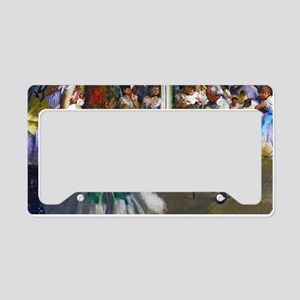 Degas - The Ballet Class License Plate Holder
