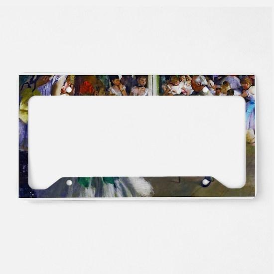 Degas - The Ballet Class License Plate Holder