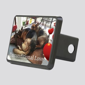 Unconditional Love Rectangular Hitch Cover