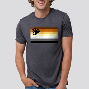 Bear Paw Flag Ash Grey T-Shirt