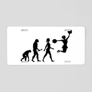 Cheerleader Evolution Aluminum License Plate
