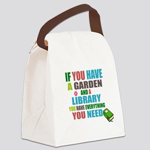 If you have a garden and a Library Canvas Lunch Ba