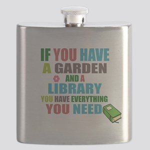 If you have a garden and a Library Flask