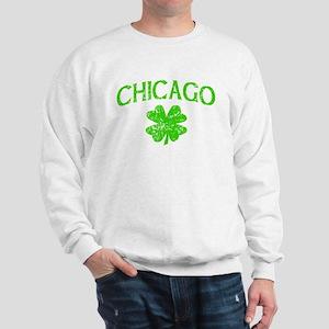 Chicago Irish w/shamrock Sweatshirt