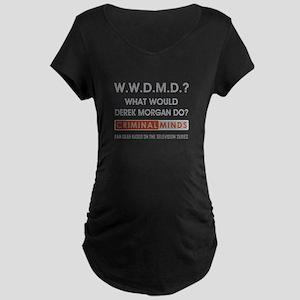 WWDMD? Maternity Dark T-Shirt