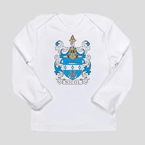 Nicol Family Crest Long Sleeve T-Shirt