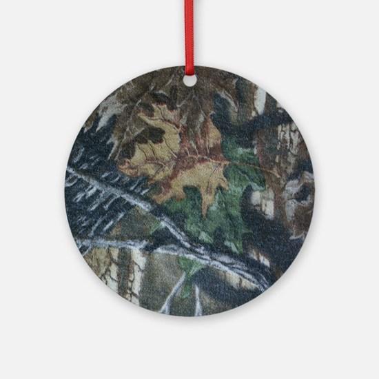 Camo 4 Ornament (Round)