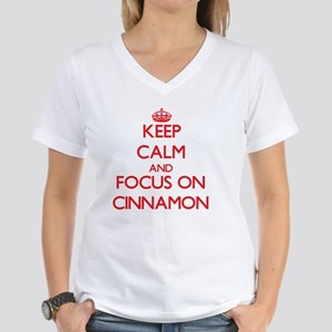 Keep Calm and focus on Cinnamon T-Shirt