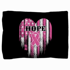 Breast Cancer Hope Pillow Sham