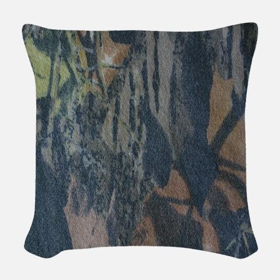 Camo 2 Woven Throw Pillow