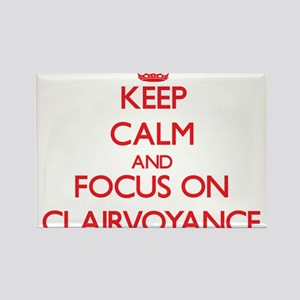 Keep Calm and focus on Clairvoyance Magnets