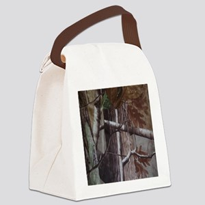 Camo 1 Canvas Lunch Bag