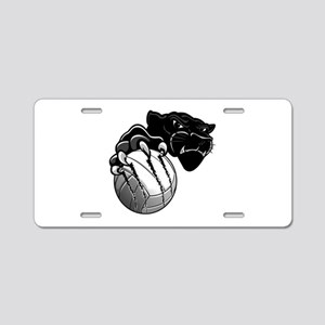Panther Pride Aluminum License Plate