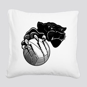 Panther Pride Square Canvas Pillow