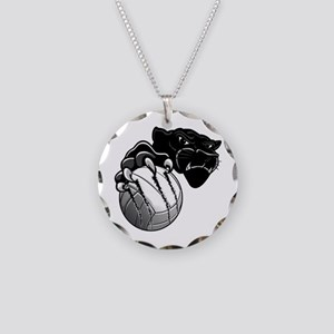 Panther Pride Necklace Circle Charm