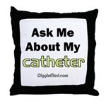 Catheter Throw Pillow