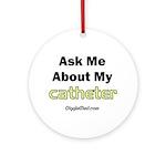 Catheter Ornament (Round)