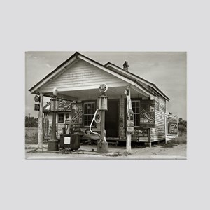 Country Filling Station, 1939 Magnets