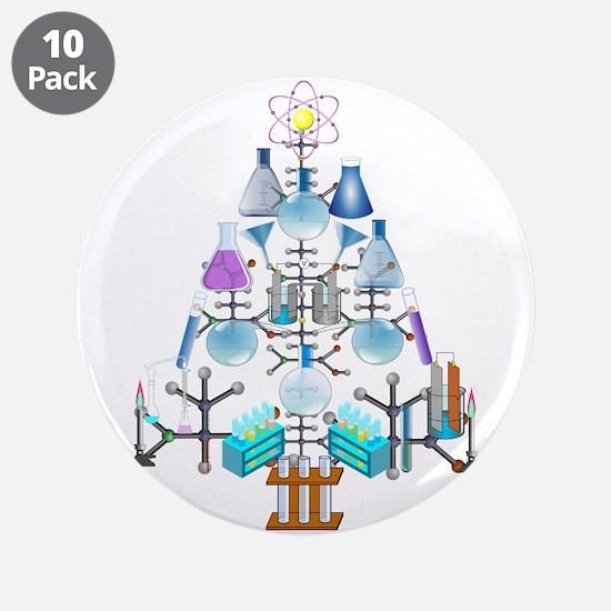 """Unique Science 3.5"""" Button (10 pack)"""